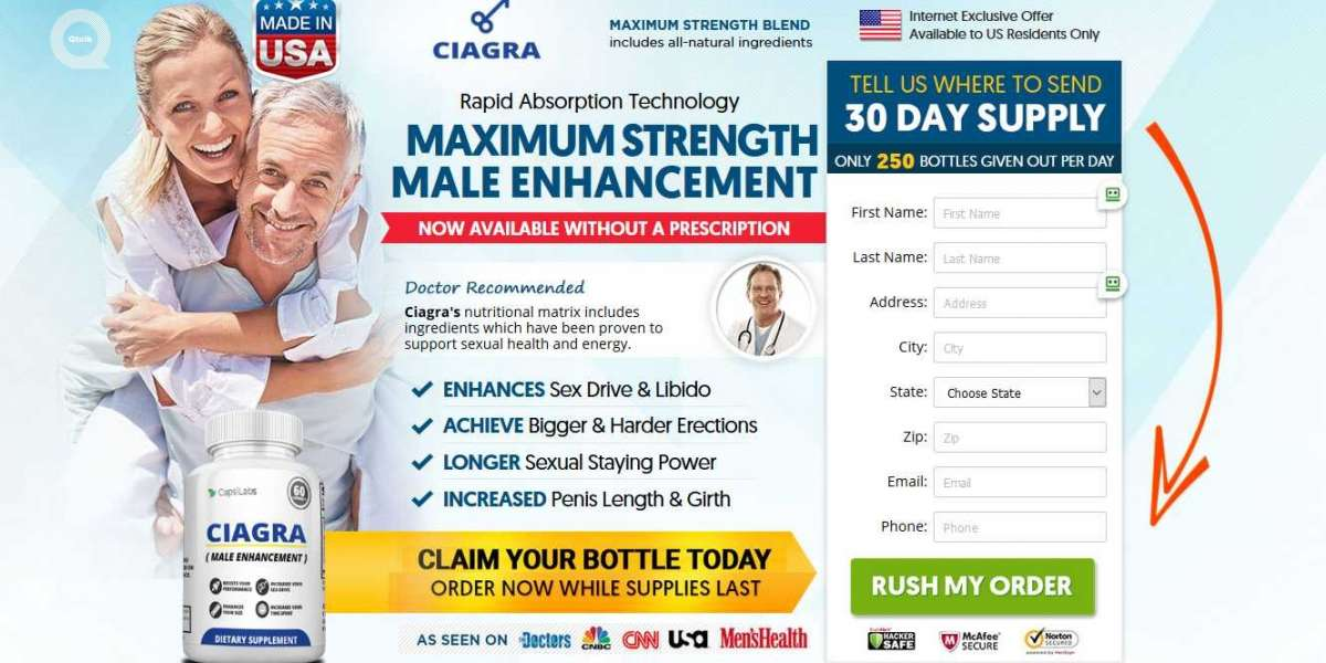 Ciagra Male Enhancement - Gets You Harder And Bigger Fast