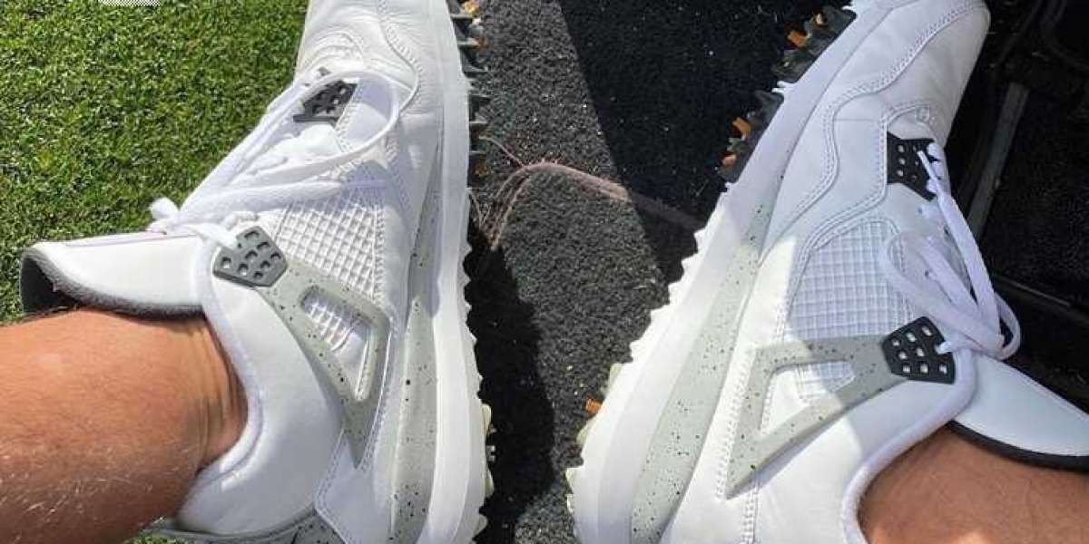CU9981-100 Air Jordan 4 Golf White Cement Release Next Year
