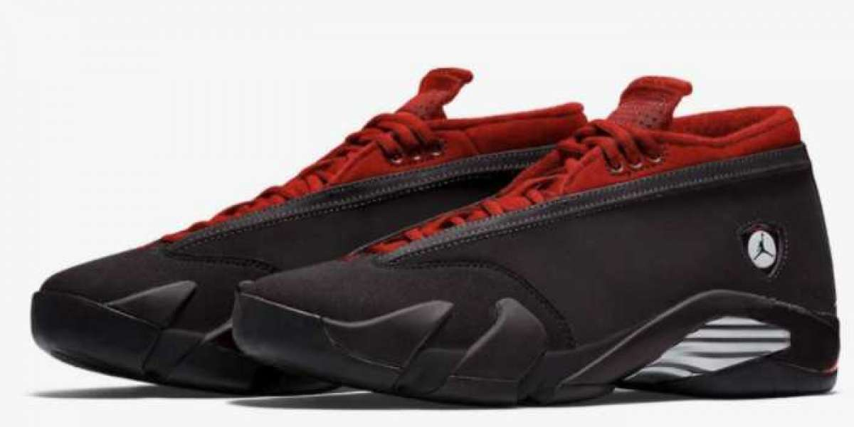 """DH4121-006 Air Jordan 14 Low WMNS """"Gym Red"""" Will Debut On September 16th In ladies Specifications"""