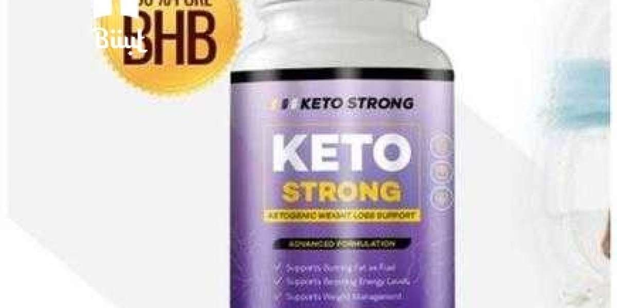 Keto Strong Adamari Lopez Diet Pills - Utilize Fat for Energy with Ketosis